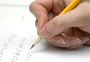 lady-hand-writing