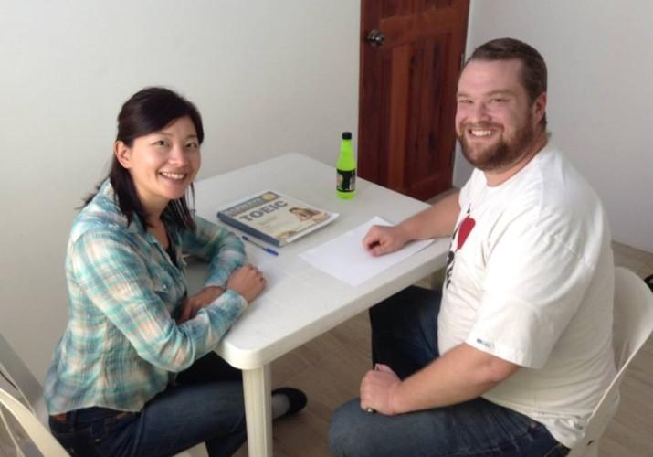 face to face english school teacher matt