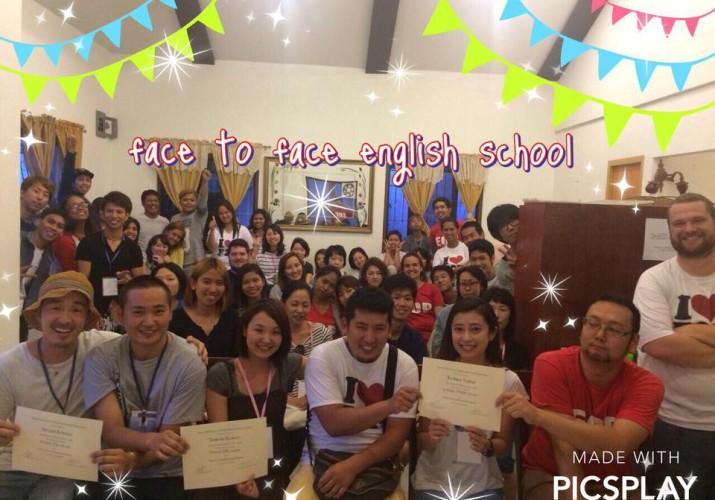 face to face english school graduation syuhei